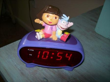 the clock my daughter stole