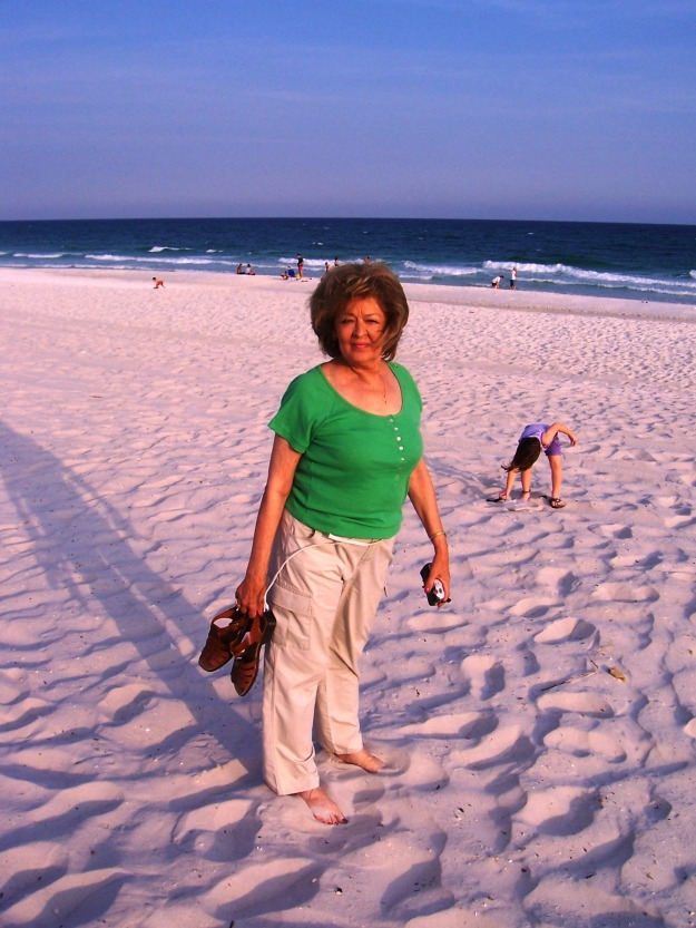 on the beach in Pensacola, Fl