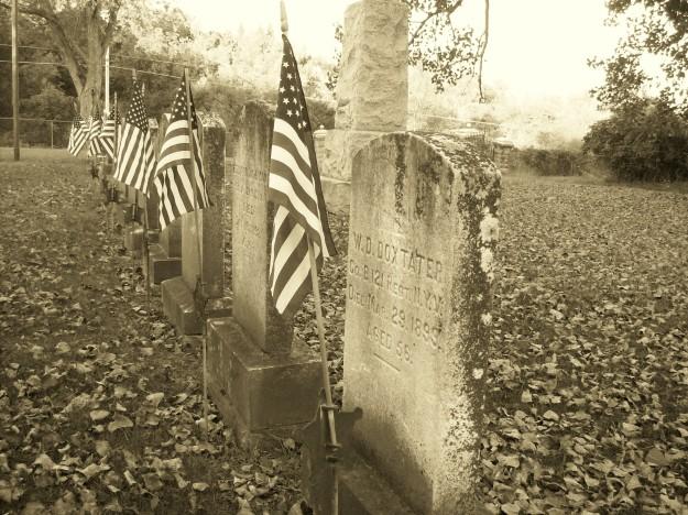 tombstones-sepia