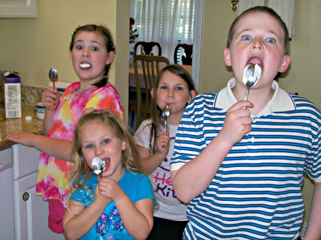 Whip Cream Kids - My Children & My Nieces