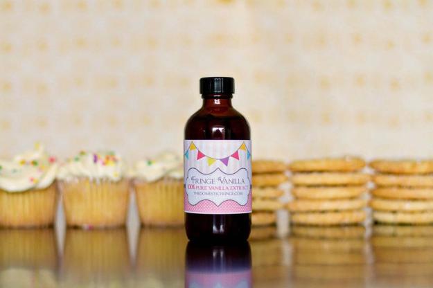 Fringe Vanilla Extract - Gluten Free
