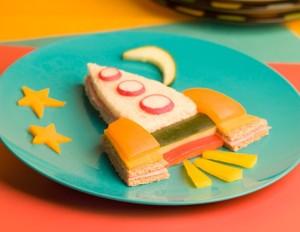 creative kids sandwich