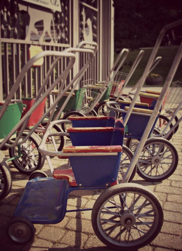 vintage strollers