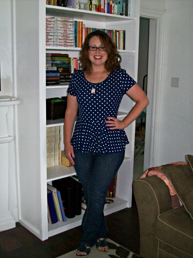 H&M polka dot shirt