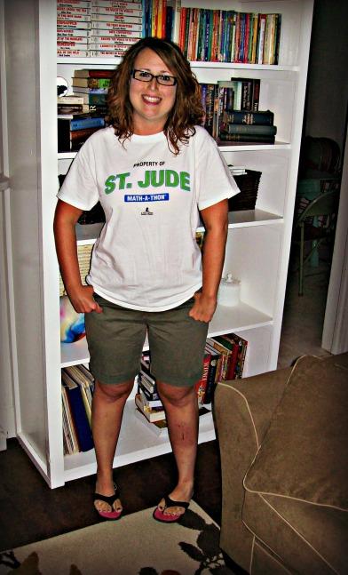 Shorts & a tee