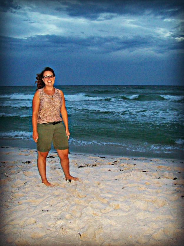 Pensacola Beach at night