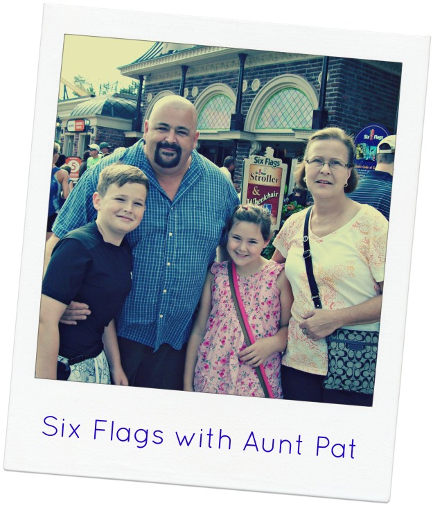 Family at Six Flags