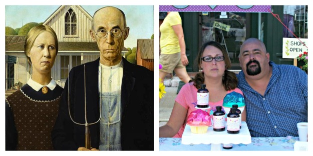 Modern American Gothic Interpretation