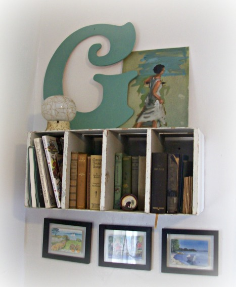 Home decorating with books