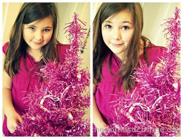 Pink Mini Tree