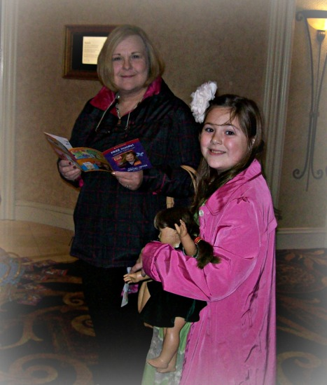 on line at American Girl Doll show