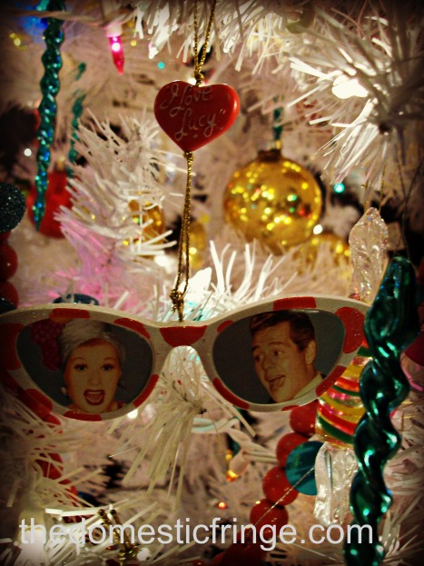 I Love Lucy Ornament @ The Domestic Fringe