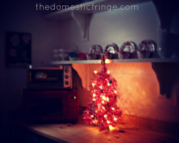 Christmas Tree in the kitchen