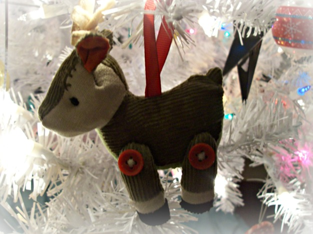 plush deer ornament @ The Domestic Fringe
