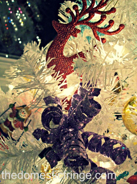 glitter ornaments @ The Domestic Fringe