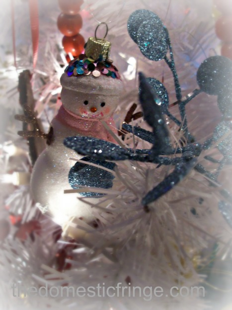snowman ornament @ The Domestic Fringe