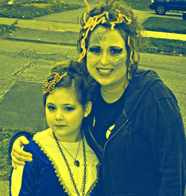 Medusa costume Warhol Style