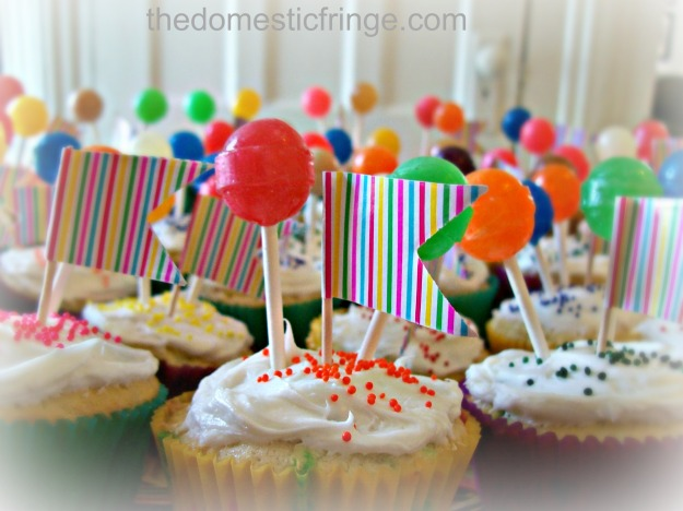 birthday party cupcakes child's party