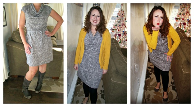cotton dress summer to winter Target style