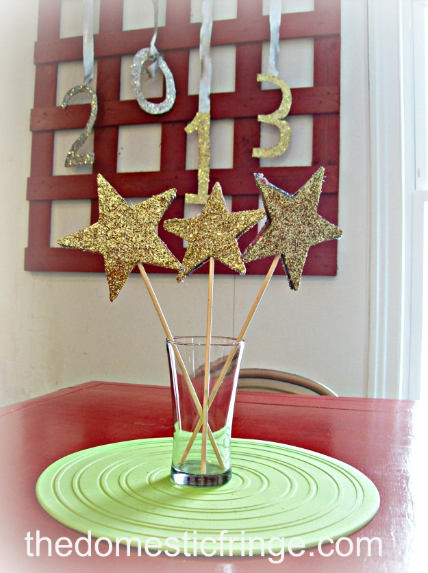 DIY New Year's Eve decorations