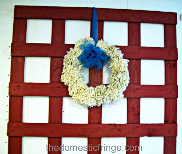 DIY Pallet Wall Art Christmas