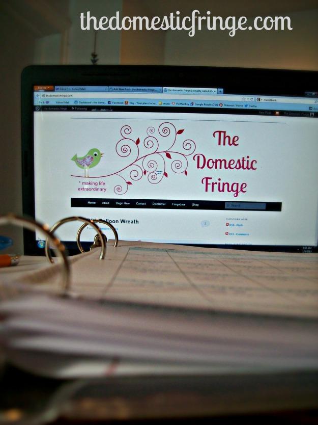 organized blogger