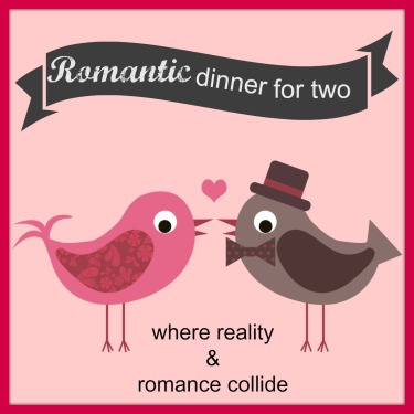 valentine's day romantic dinner for two at home with the kids: love birds